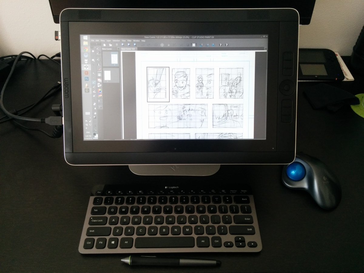 Gear Review: Wacom Cintiq Companion 2 – Drawing bliss or miss?